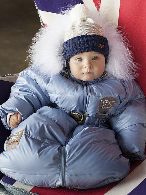 Зимний пуховый комбинезон Choupette
