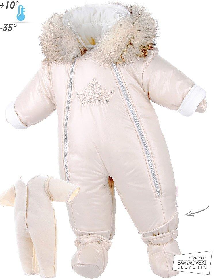 Зимние комбинезоны Pilguni для новорожденных